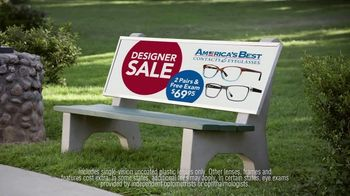 America's Best Contacts and Eyeglasses Designer Sale TV Spot, 'Bird Bath' - Thumbnail 6