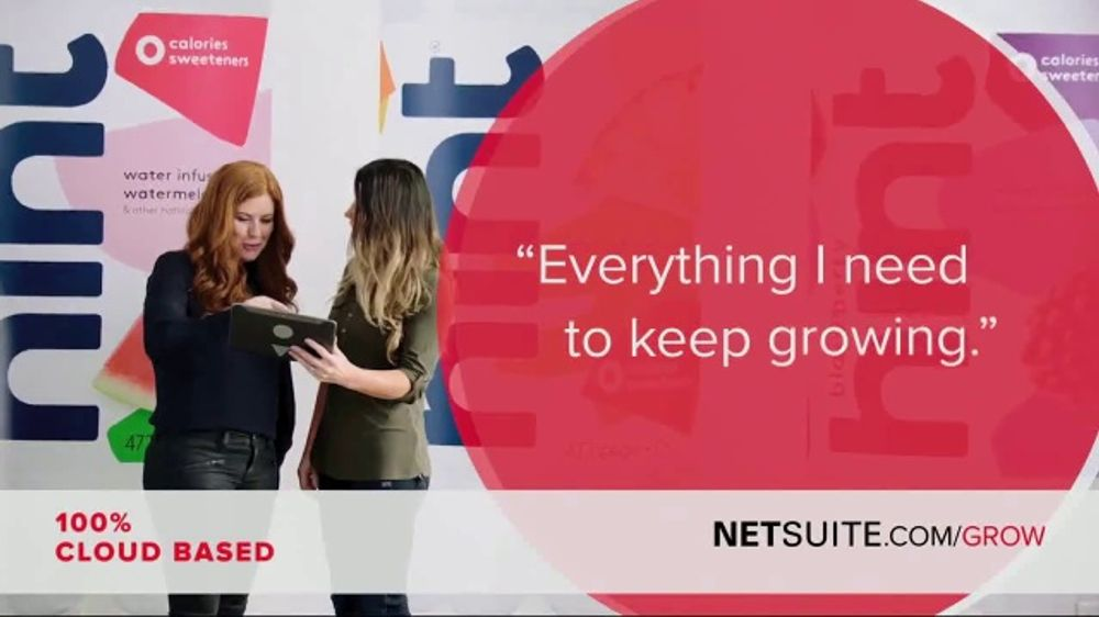 Oracle NetSuite TV Commercial, 'Kara Goldin: Founder and CEO of Hint'