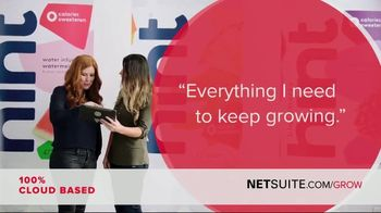 Oracle NetSuite TV Spot, 'Kara Goldin: Founder and CEO of Hint'