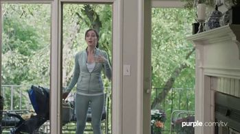 Purple Mattress TV Spot, 'Neighbors: Purple Pillow' - Thumbnail 6