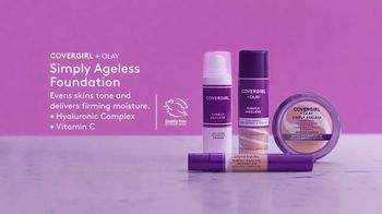 CoverGirl + Olay Simply Ageless Foundation TV Spot, 'What Age' Featuring Maye Musk - Thumbnail 7