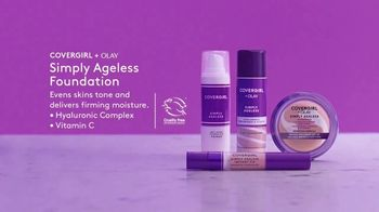 CoverGirl + Olay Simply Ageless Foundation TV Spot, 'What Age' Featuring Maye Musk - Thumbnail 8