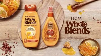 Garnier Whole Blends Honey Treasures Miracle Nectar TV Spot, 'Blended With Honey' - Thumbnail 10