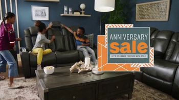 Ashley HomeStore Anniversary Sale TV Spot, 'Final Week: Grand Opening' Song by Midnight Riot - Thumbnail 2