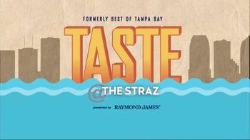 Raymond James TV Spot, '2019 Taste at The Straz' - Thumbnail 3