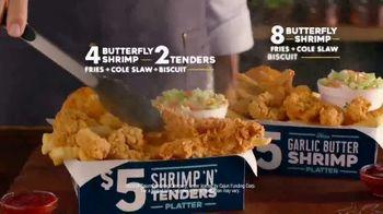 Church's Chicken Restaurants $5 Shrimp 'n' Tenders Platter TV Spot, 'Shakedown' - Thumbnail 9