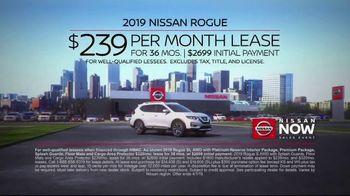Nissan Now Sales Event TV Spot, 'Award-Winning Lineup: 2019 Rogue' [T2] - Thumbnail 10