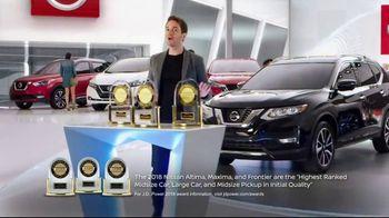 Nissan Now Sales Event TV Spot, 'Award-Winning Lineup: 2019 Rogue' [T2] - Thumbnail 4