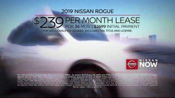 Nissan Now Sales Event TV Spot, 'Award-Winning Lineup: 2019 Rogue' [T2] - Thumbnail 9