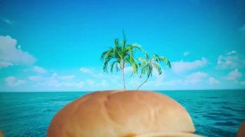 Arby's King's Hawaiian Sandwiches TV Spot, 'Isle of Buns' Featuring H. Jon Benjamin, Song by YOGI - Thumbnail 2