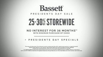 Bassett  Presidents Day Sale TV Spot, 'Time for Custom Furniture' - Thumbnail 9