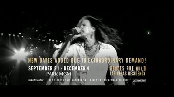 Aerosmith TV Spot, 'Deuces Are Wild: Las Vegas Residency' - Thumbnail 8