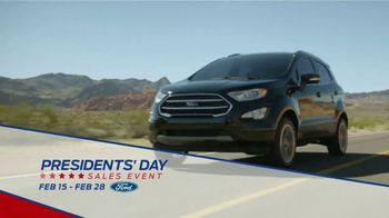 Ford Presidents Day Sales Event TV Spot, 'Time to Save' [T2] - Thumbnail 7