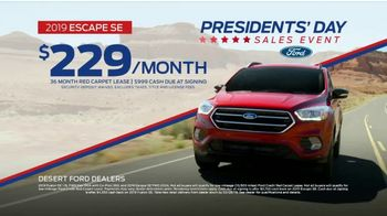 Ford Presidents Day Sales Event TV Spot, 'Time to Save' [T2] - Thumbnail 9