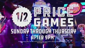 Dave and Buster's Half-Price Games TV Spot, 'Play the Marvel Contest of Champions Arcade Game'