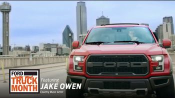 Ford Truck Month TV Spot, 'The One and Only' Featuring Jake Owen [T2]