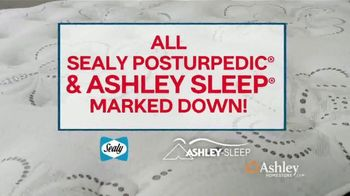 Ashley HomeStore Presidents Day Mattress Sale TV Spot, 'Sealy & Ashley Sleep' Song by Midnight Riot - Thumbnail 2