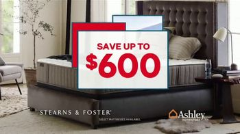 Ashley HomeStore Presidents Day Mattress Sale TV Spot, 'Sealy & Ashley Sleep' Song by Midnight Riot - Thumbnail 5