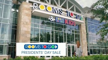 Rooms to Go Presidents Day Sale TV Spot, 'Coupon App' - 1 commercial airings
