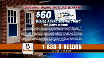 Beldon Windows Winter Savings Sale TV Spot, 'Drafty Windows' - Thumbnail 9