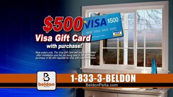 Beldon Windows Winter Savings Sale TV Spot, 'Drafty Windows' - Thumbnail 8