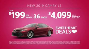 Toyota Sweetheart Deals Sales Event TV Spot, 'Swing In: Highlander and Camry' [T2] - Thumbnail 5