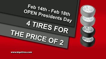 Big O Tires Buy 2 Tires Get 2 Tires Free Sale TV Spot, 'Once a Year' - Thumbnail 9