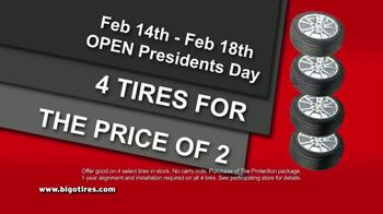 Big O Tires Buy 2 Tires Get 2 Tires Free Sale TV Spot, 'Once a Year' - Thumbnail 8
