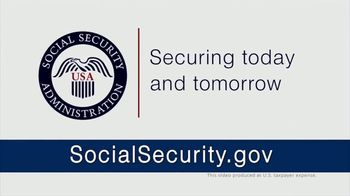 Social Security Administration TV Spot, 'Manage Benefits Online' - Thumbnail 9