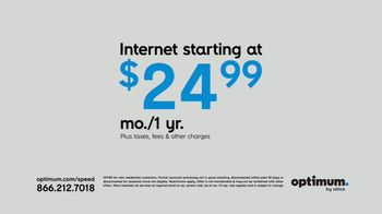 Optimum Presidents Day Sale TV Spot, 'George Wants to Stream' - Thumbnail 2