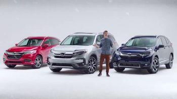 Honda Presidents Day Sales Event TV Spot, 'Weather' [T2] - Thumbnail 4