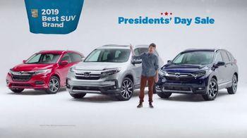 Honda Presidents Day Sales Event TV Spot, 'Weather' [T2] - Thumbnail 8