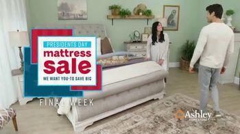 Ashley HomeStore Presidents Day Mattress Sale TV Spot, 'Final Week: Adjustable Mattress Sets' Song by Midnight Riot - Thumbnail 2
