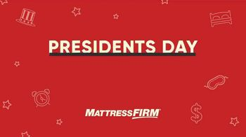 Mattress Firm Presidents Day Sale TV Spot, 'All Day Doorbuster' - Thumbnail 1