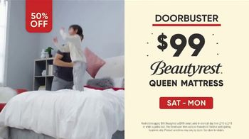 Mattress Firm Presidents Day Sale TV Spot, 'All Day Doorbuster' - Thumbnail 4