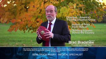Brad Bradshaw TV Spot, 'Staying Undefeated: Semi-Truck Injuries' - Thumbnail 9