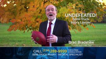 Brad Bradshaw TV Spot, 'Staying Undefeated: Semi-Truck Injuries' - Thumbnail 2