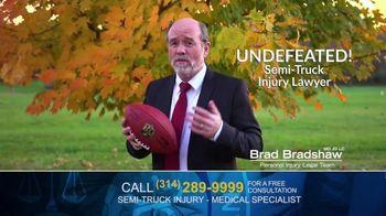 Brad Bradshaw TV Spot, 'Staying Undefeated: Semi-Truck Injuries' - Thumbnail 3