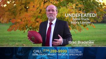 Brad Bradshaw TV Spot, 'Staying Undefeated: Semi-Truck Injuries' - Thumbnail 4
