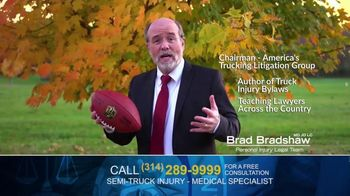 Brad Bradshaw TV Spot, 'Staying Undefeated: Semi-Truck Injuries'