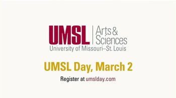 University of Missouri TV Spot, 'UMSL Day: Arts and Science' - Thumbnail 9