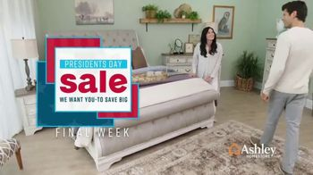 Ashley HomeStore Presidents Day Sale TV Spot, 'Final Week: New Styles' Song by Midnight Riot - Thumbnail 2