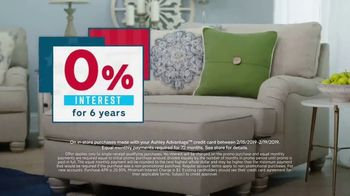 Ashley HomeStore Presidents Day Sale TV Spot, 'Final Week: New Styles' Song by Midnight Riot - Thumbnail 3