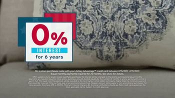 Ashley HomeStore Presidents Day Sale TV Spot, 'Final Week: New Styles' Song by Midnight Riot - Thumbnail 4
