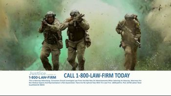 1-800-LAW-FIRM TV Spot, 'Served in Military: Hearing Issues' - Thumbnail 1