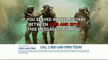 1-800-LAW-FIRM TV Spot, 'Served in Military: Hearing Issues' - Thumbnail 3