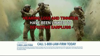1-800-LAW-FIRM TV Spot, 'Served in Military: Hearing Issues' - Thumbnail 5