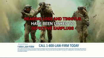 1-800-LAW-FIRM TV Spot, 'Served in Military: Hearing Issues' - Thumbnail 6