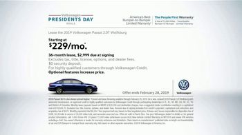 Volkswagen Presidents Day Deals TV Spot, 'Put the Pedal to the Whoa' [T2] - Thumbnail 6