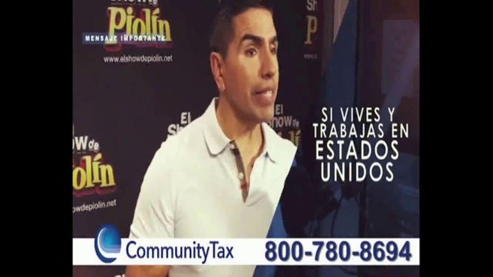 Community Tax TV Commercial, 'Impuestos' con El Piol??